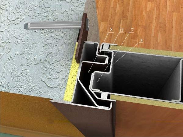 металлические двери внутреннего открыв