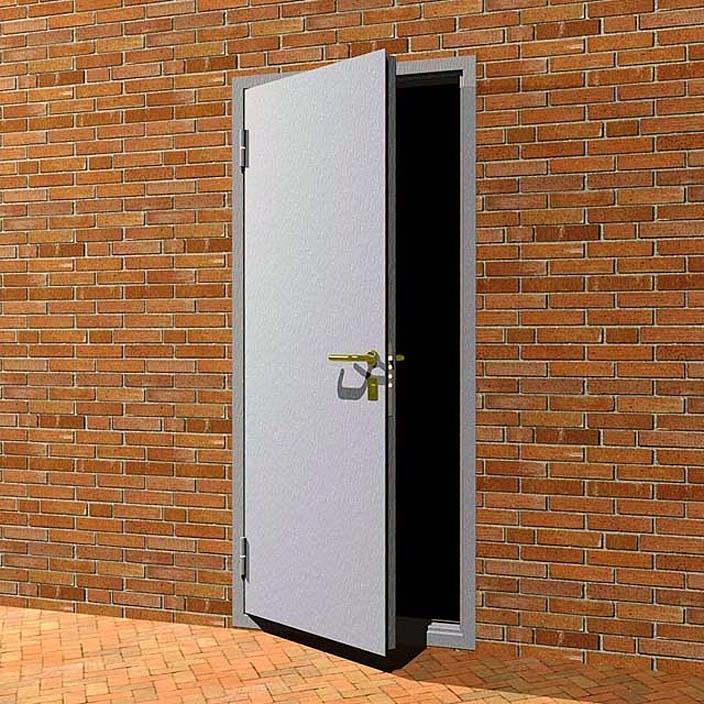 двери металлические наружные для тех помещений